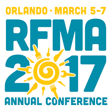 RFMA Restaurant Facility Management Trade Show and Annual Conference 2017 Logo
