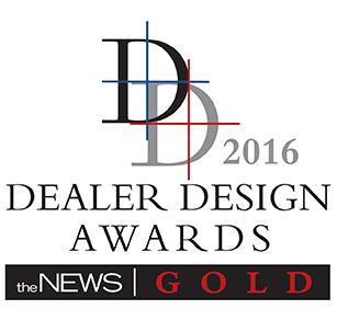 Dealer Design Awards 2016 for SAMPro Software TimeAnywhere