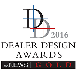Dealer Design Awards 2016 for SAMPro Software TimeAnywhere
