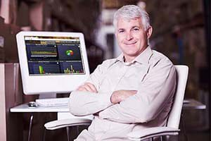 CEO of an HVAC company using SAMPro field service software.