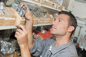 Shop floor control software helps a manager control costs.